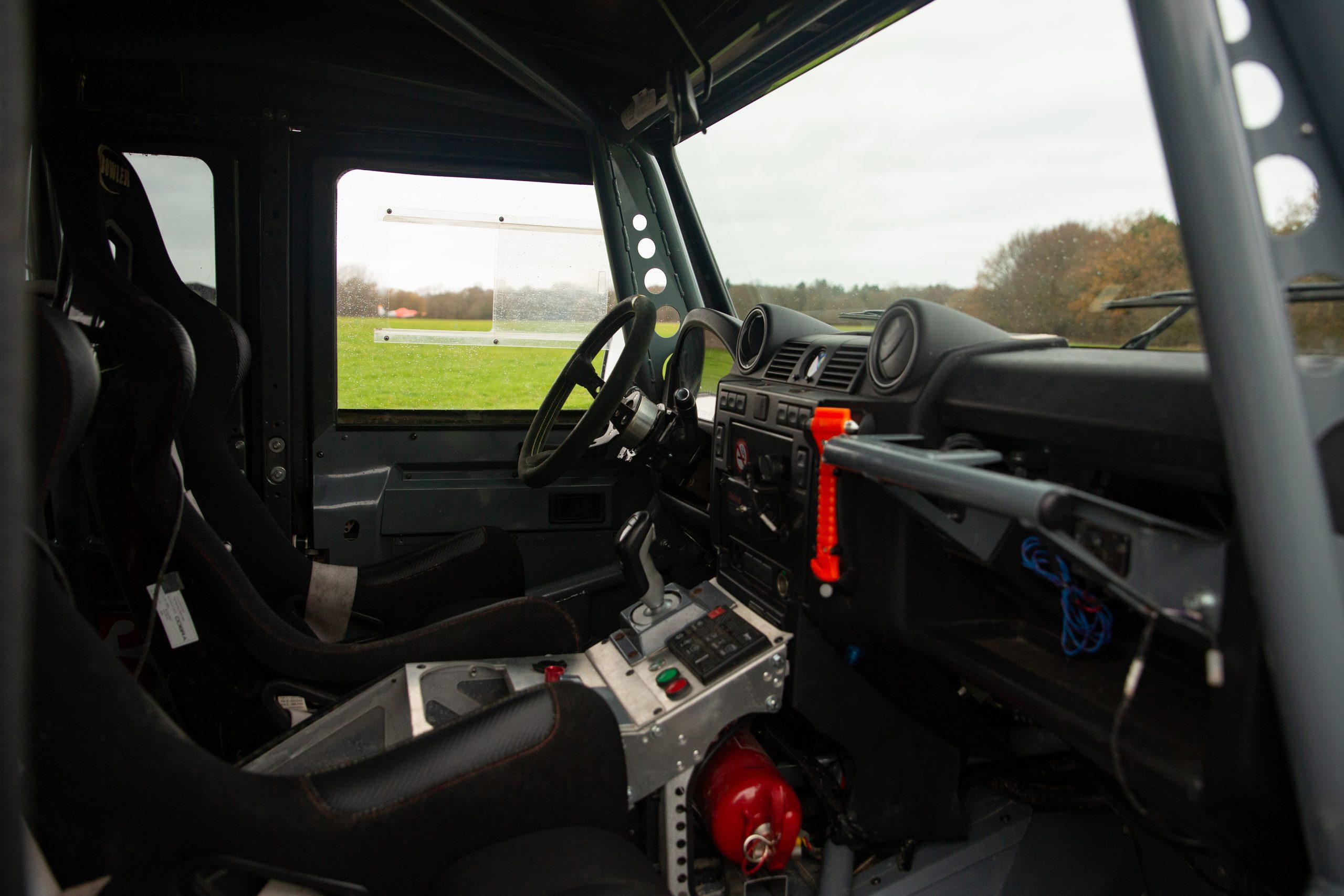 Land Rover Bowler CSP V8 Prototype interior