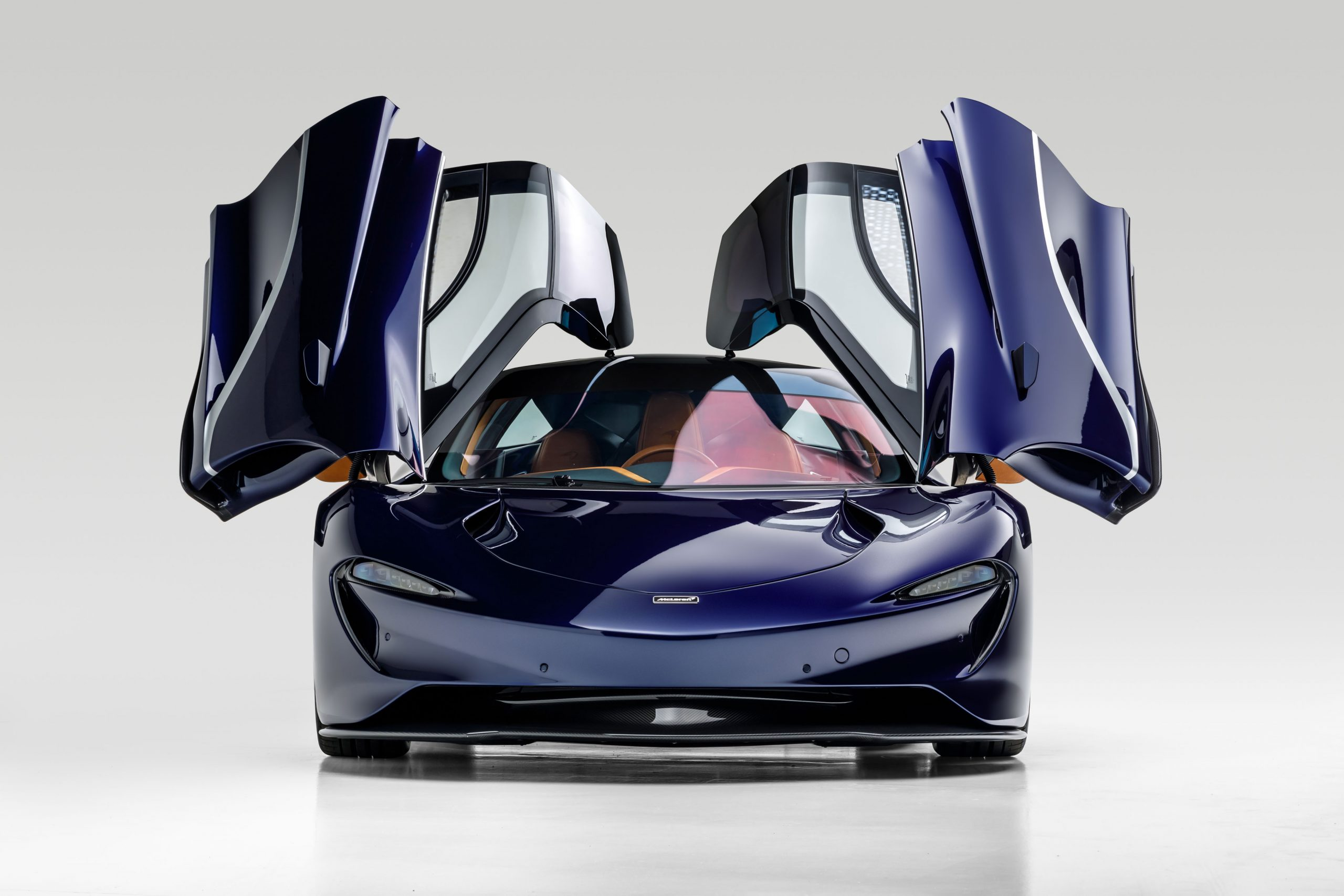 McLaren Speedtail front doors up