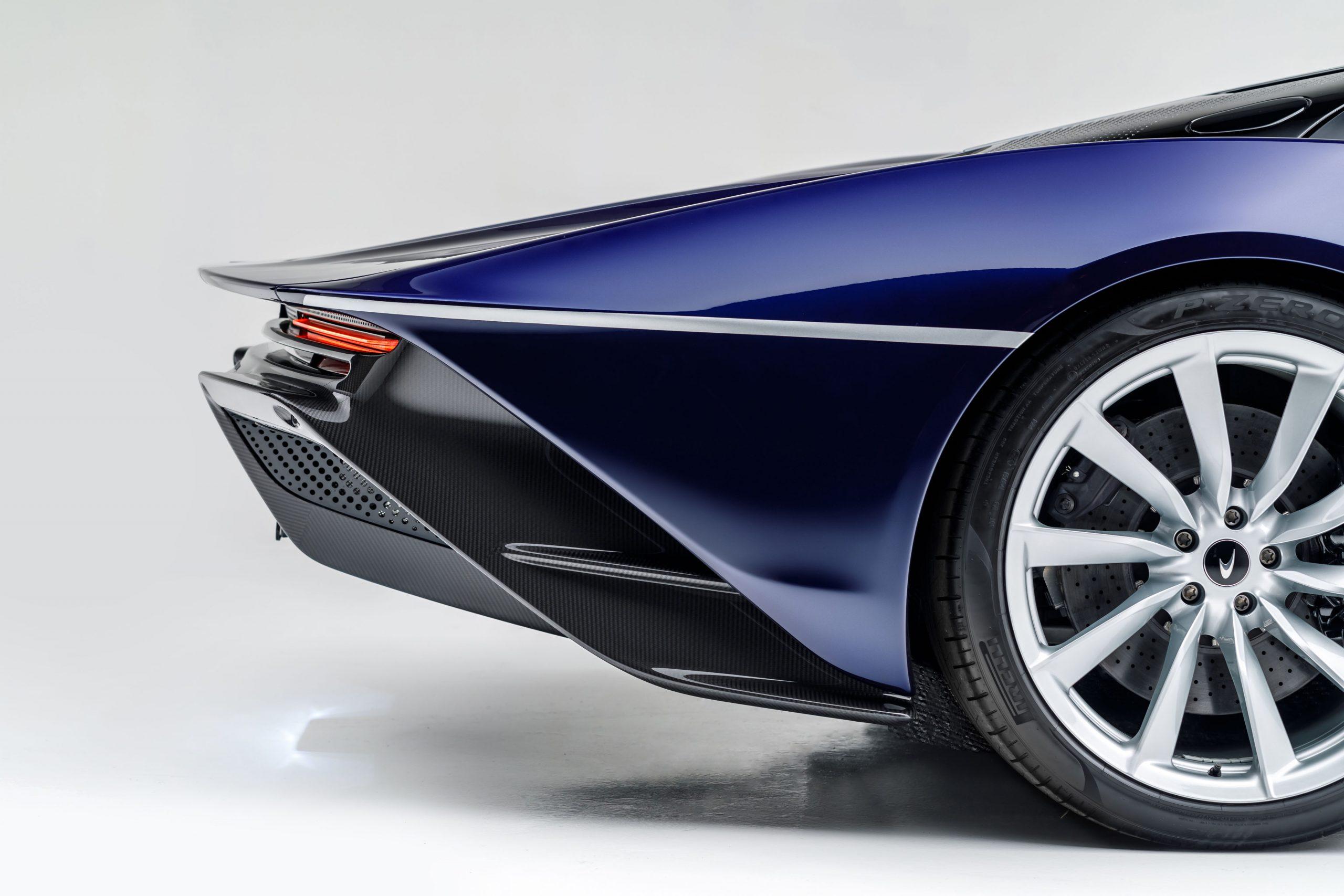 McLaren Speedtail rear fascia