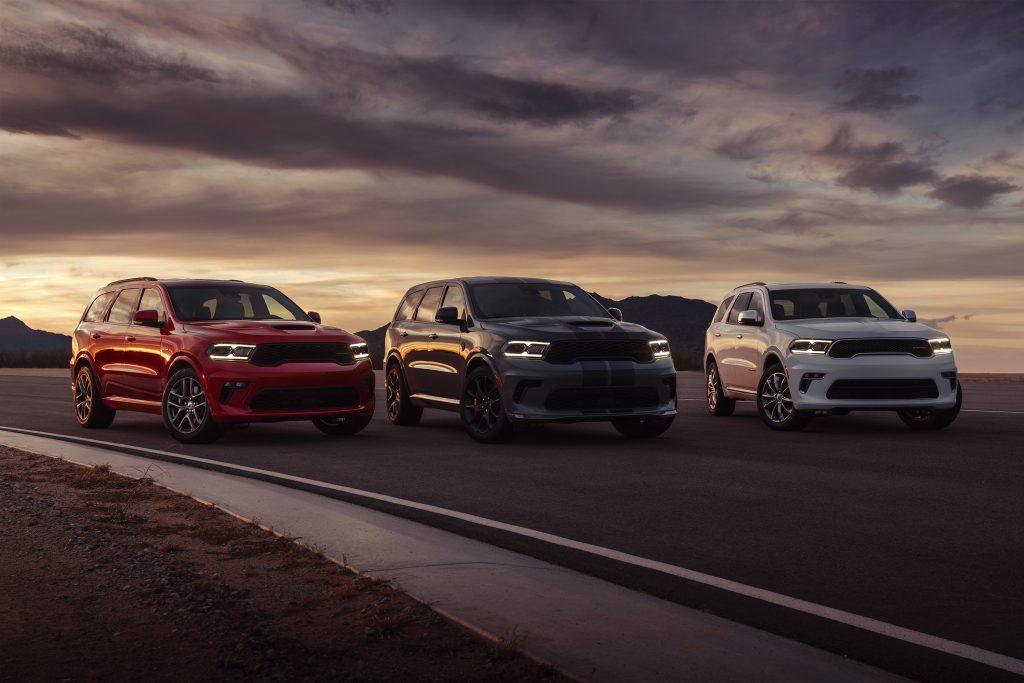 2021 Dodge Durango SRT Hellcat group shot