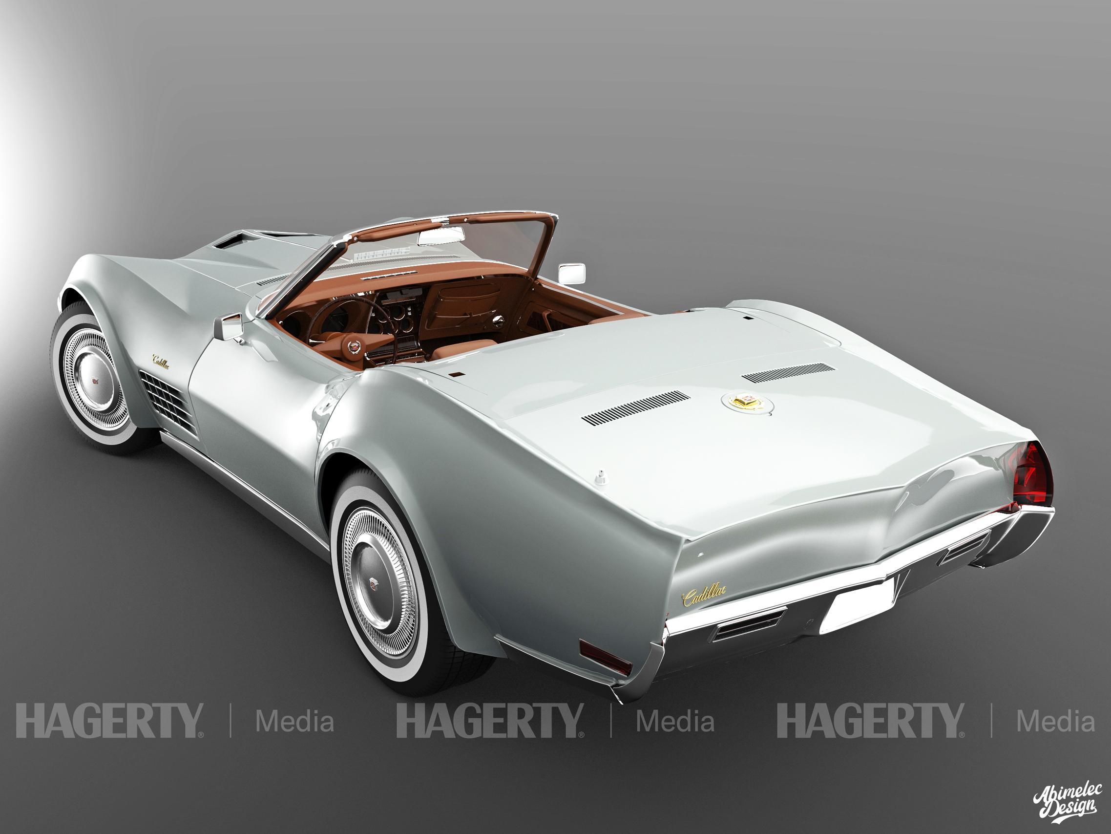 68 Cadillac Roadster DeVille grey