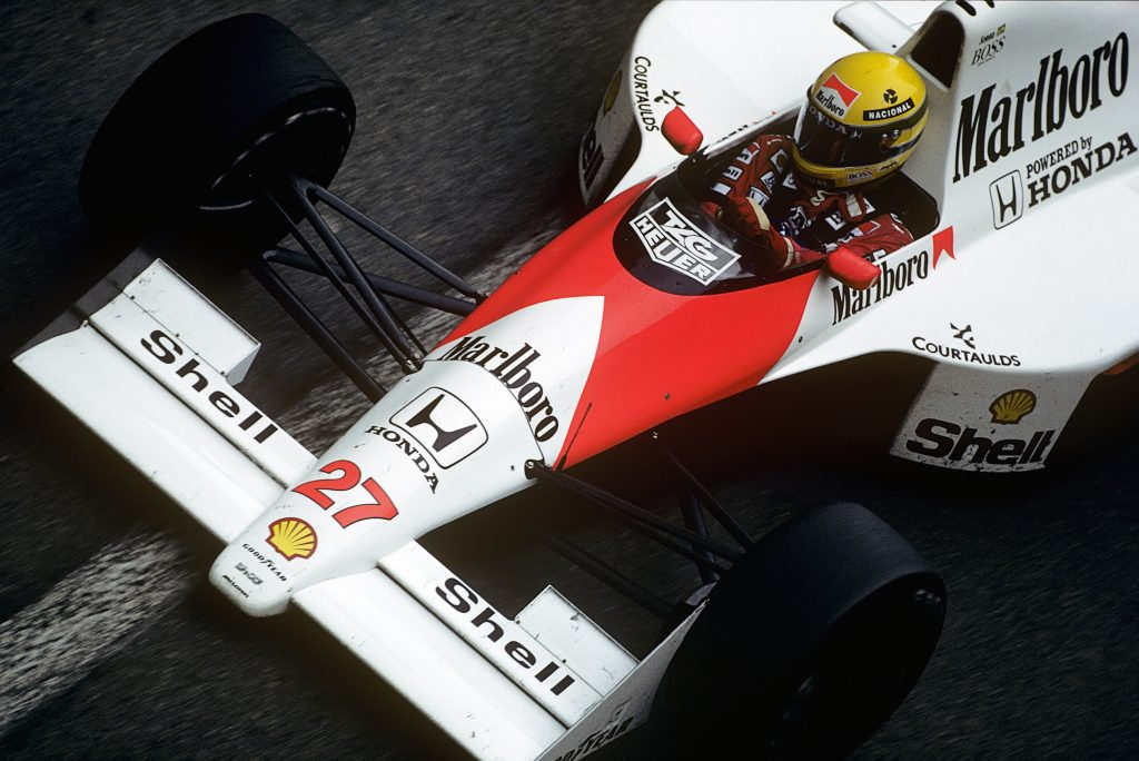 Ayrton Senna McLaren-Honda MP4-5B Grand Prix of Monaco