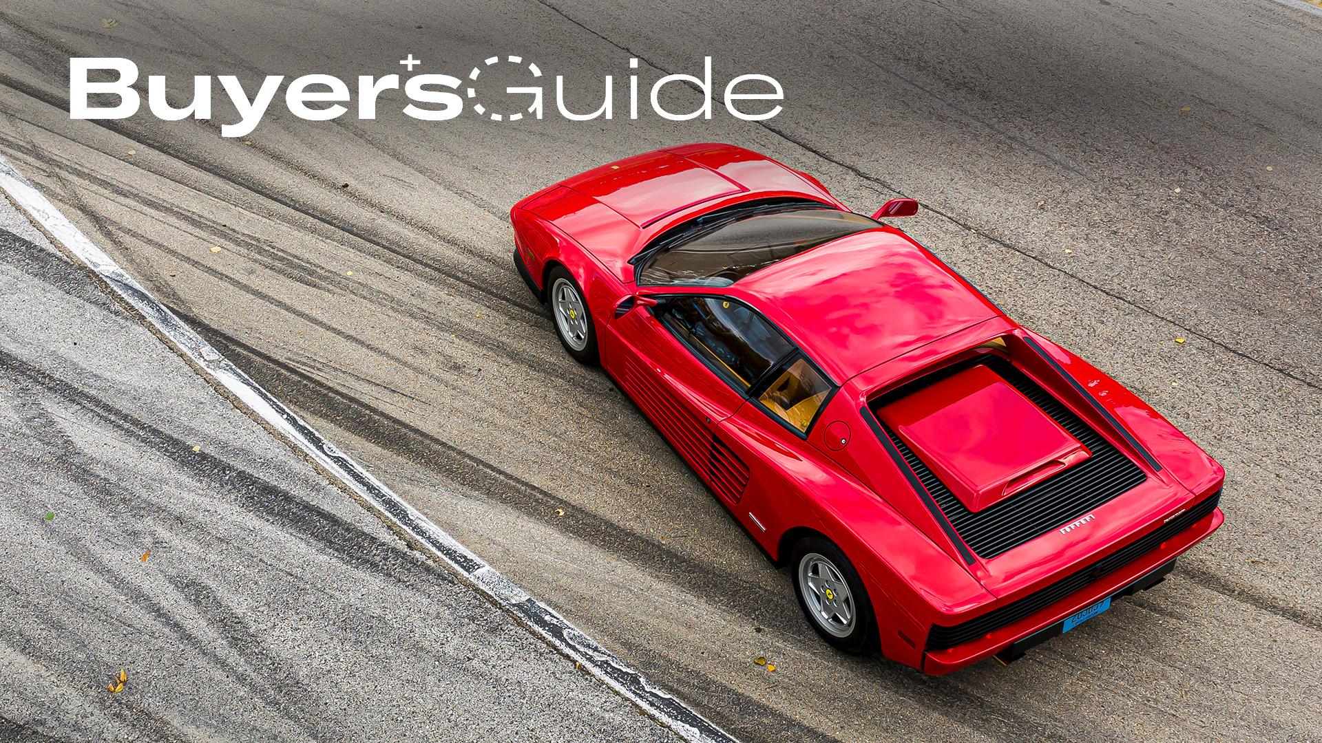 Ferrari Testarossa buyers guide