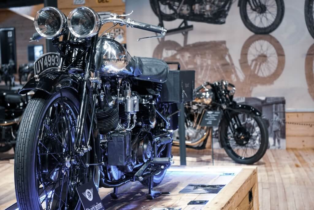 Brough Superior at Top