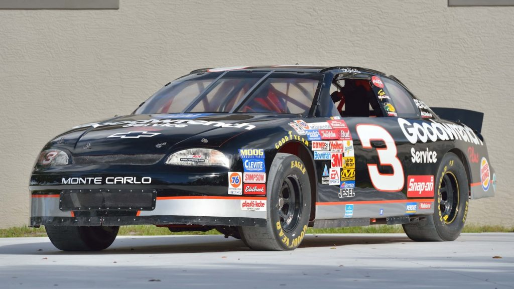 Chevrolet No. 3 Monte Carlo Dale Earnhardt front three-quarter
