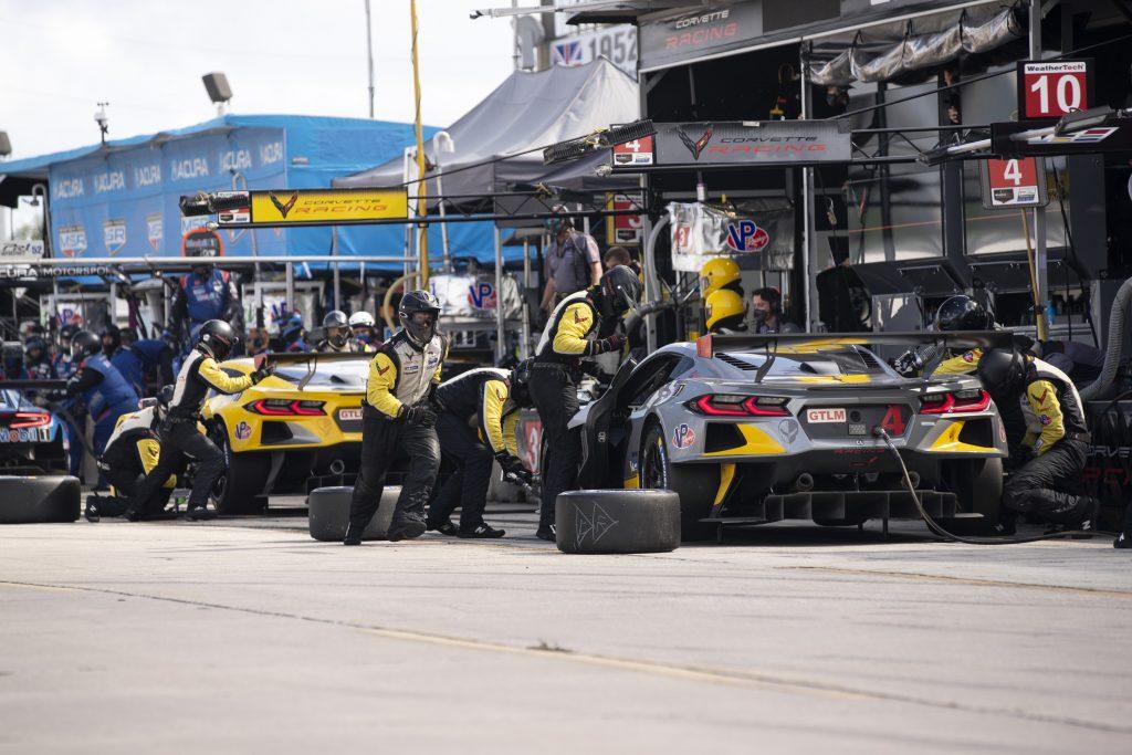 Corvette Racing C8.R at 12 Hours of Sebring 2020