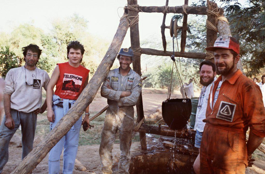 Paris Dakar Rally Prep 1986