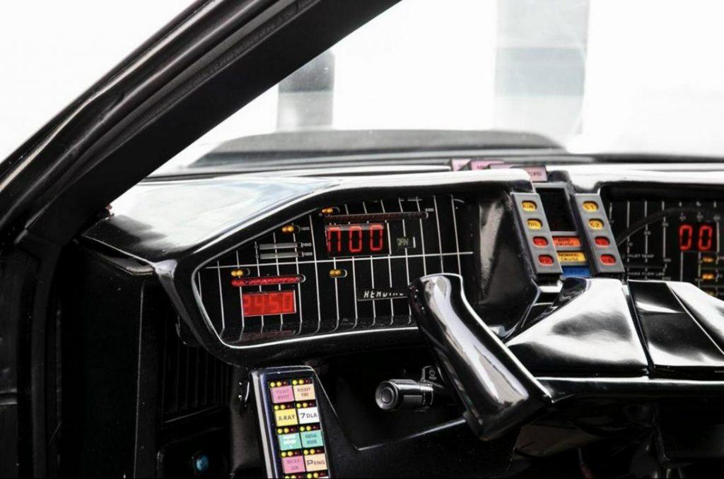 David Hasselhoff Knight Rider Car interior dash