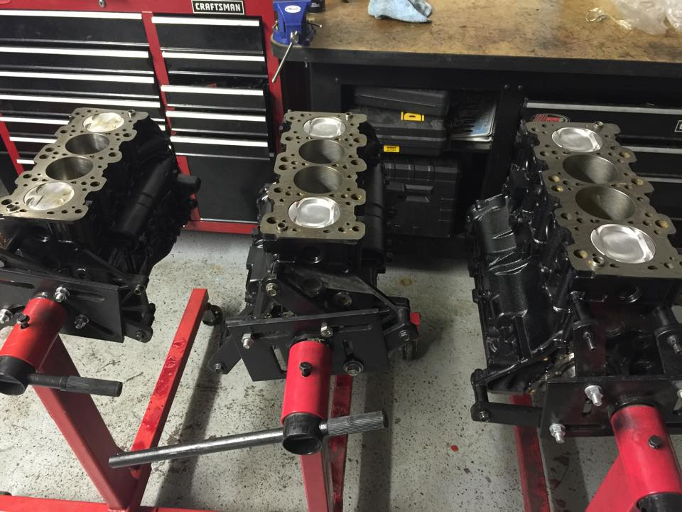 Lancer Evo engine blocks