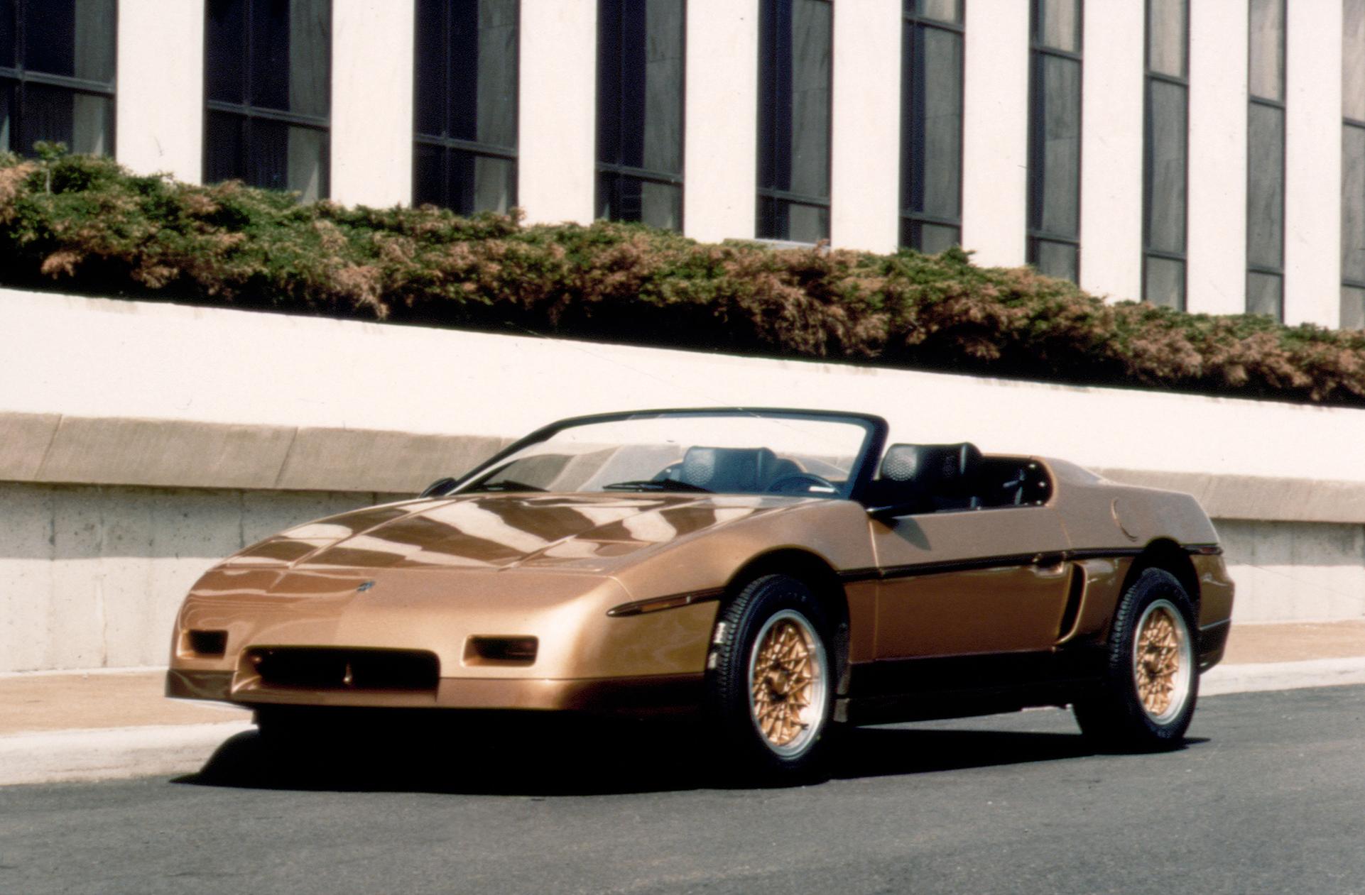 1983 Pontiac Fiero Roadster Concept