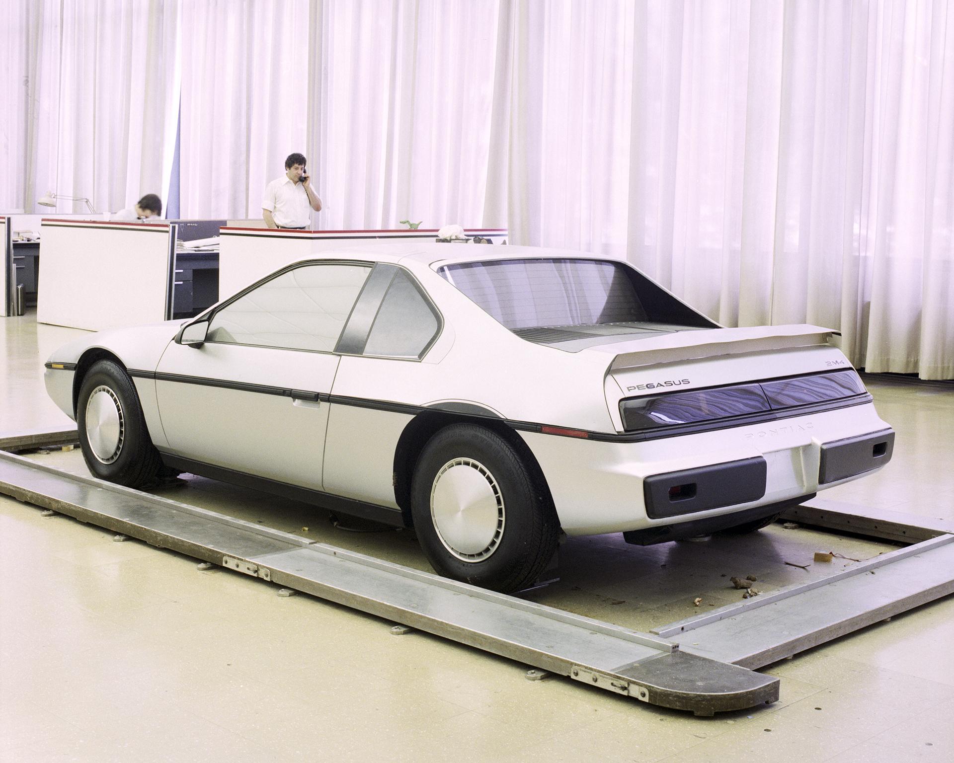 1983 Pontiac Fiero P-Body Clay Model Fiero