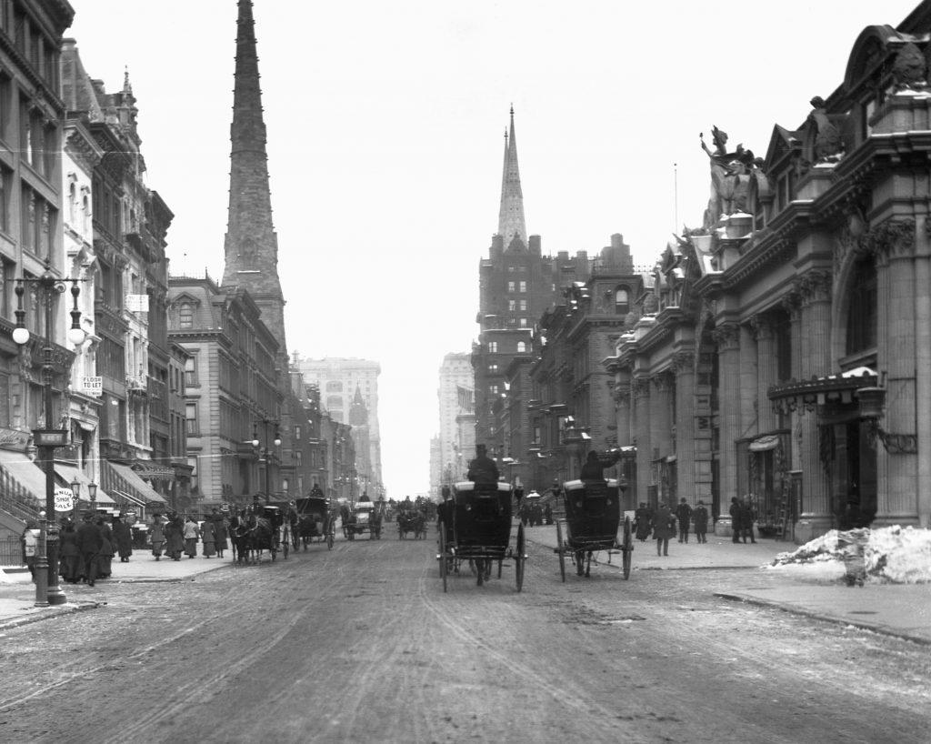 Fifth Avenue New York 1875