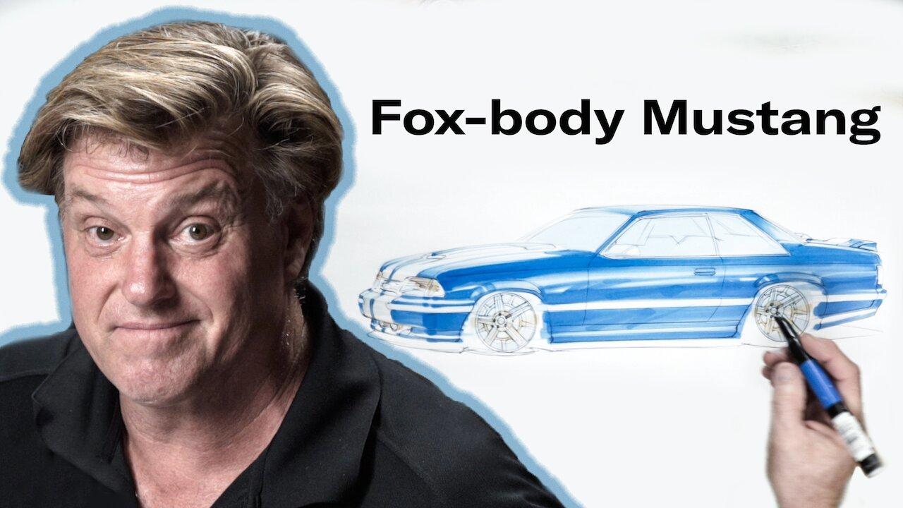 Foose Fox body drawing