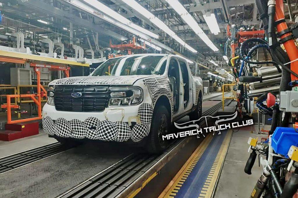 Ford Maverick Truck factory leak