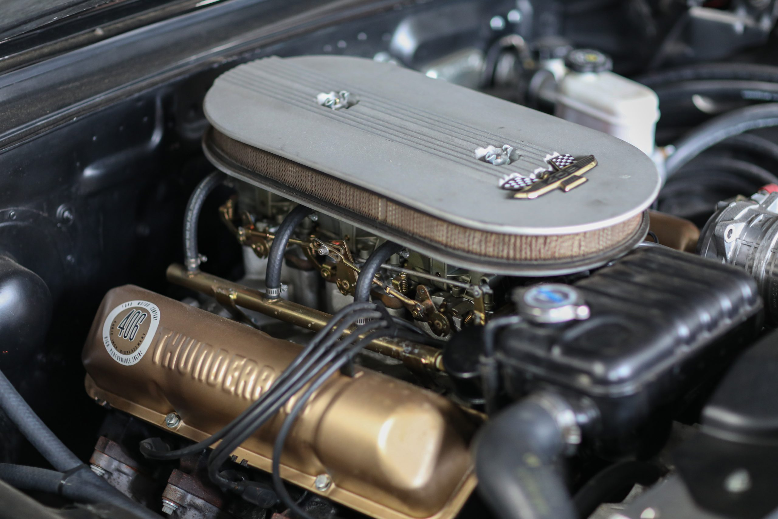 Ford Thunderbird FE V-8 406 engine