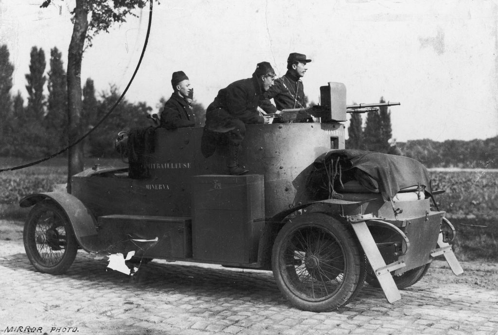 minerva armored car wwi