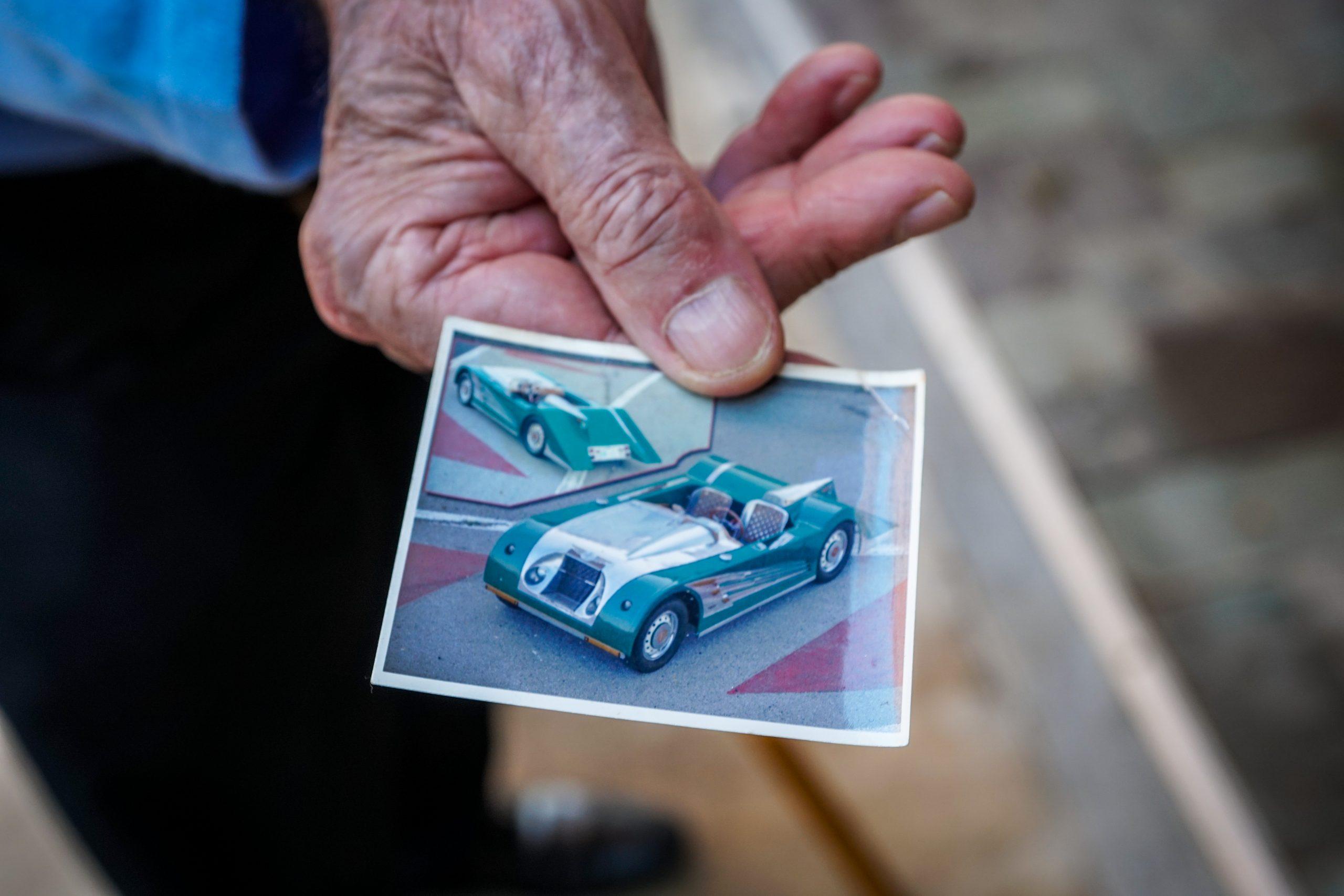 Toly Arutunoff Michel Pistol bespoke Fiat polaroid