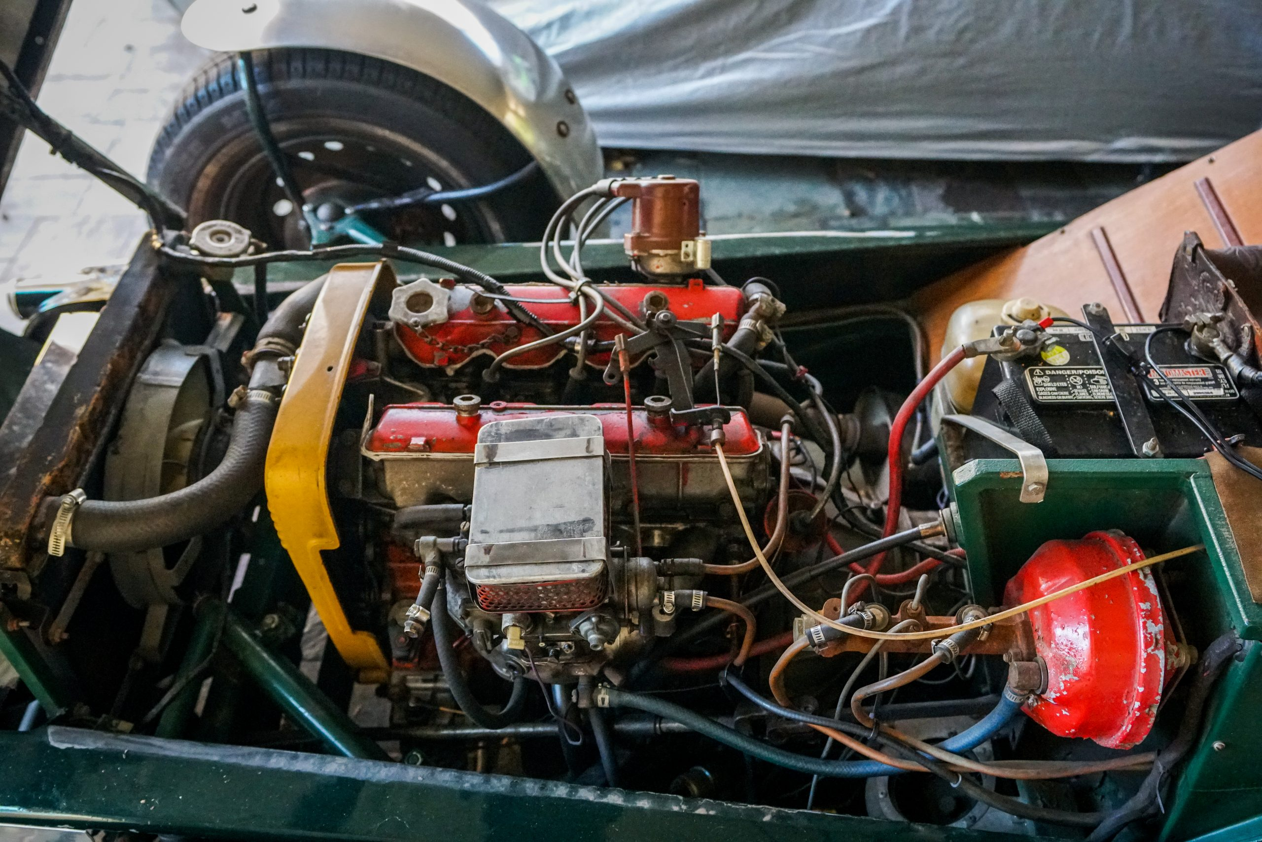 Toly Arutunoff Michel Pistol bespoke Fiat engine