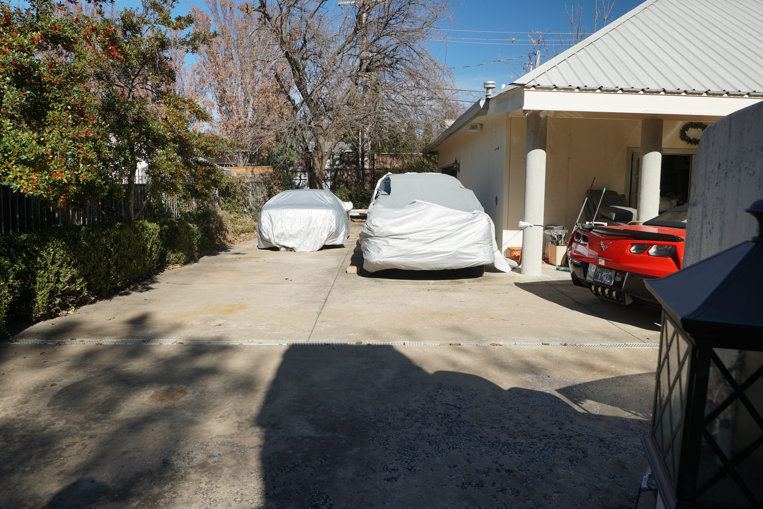 toly arutunoff driveway corvette packard limo mangusta