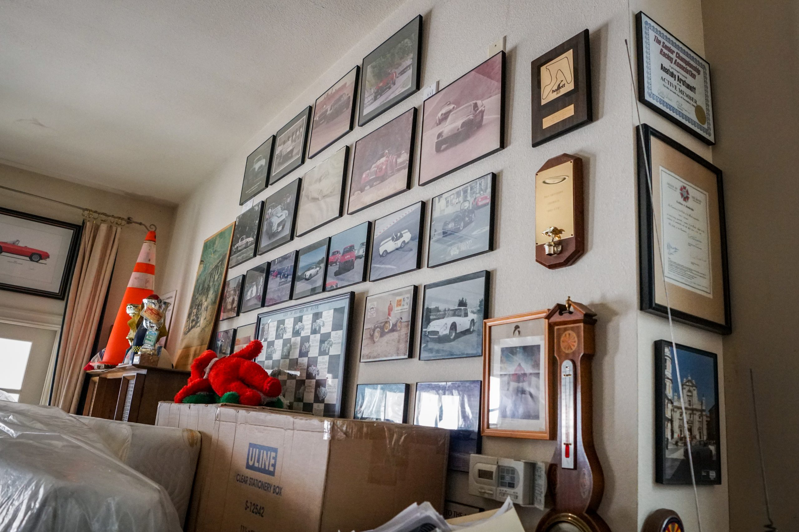 toly arutunoff wall pictures framed garage