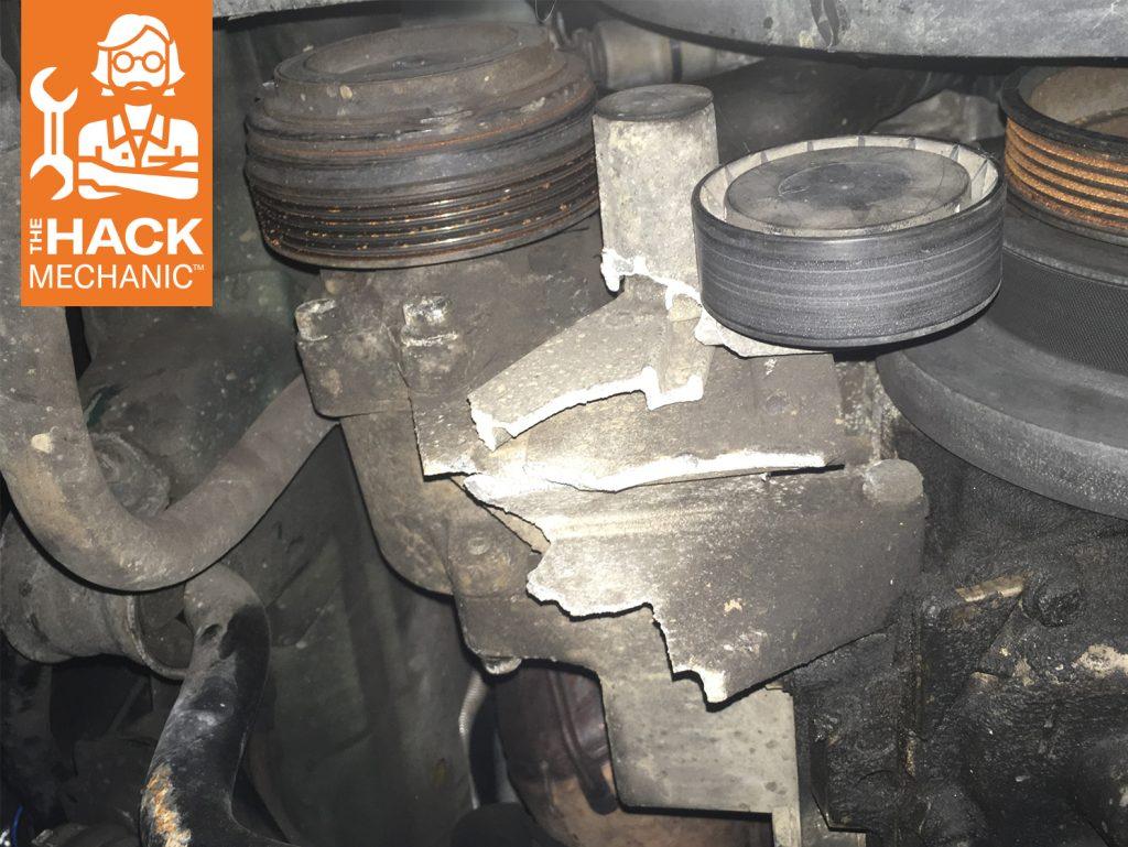 AC Cracked Housing Broken Belt Hack Mechanic