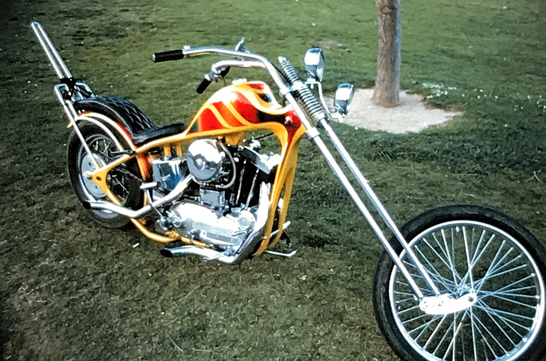 Hollywood Legends Custom chopper #1