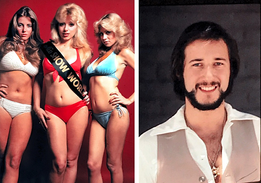 Hollywood Legends Show girls and Paul Snider