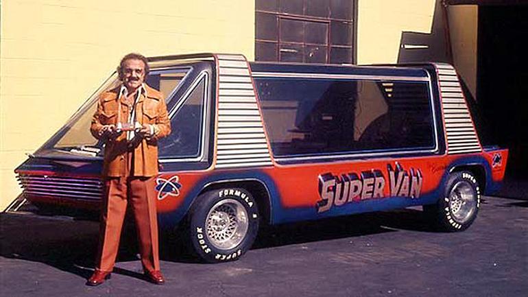 Hollywood Legends Super Van george barris