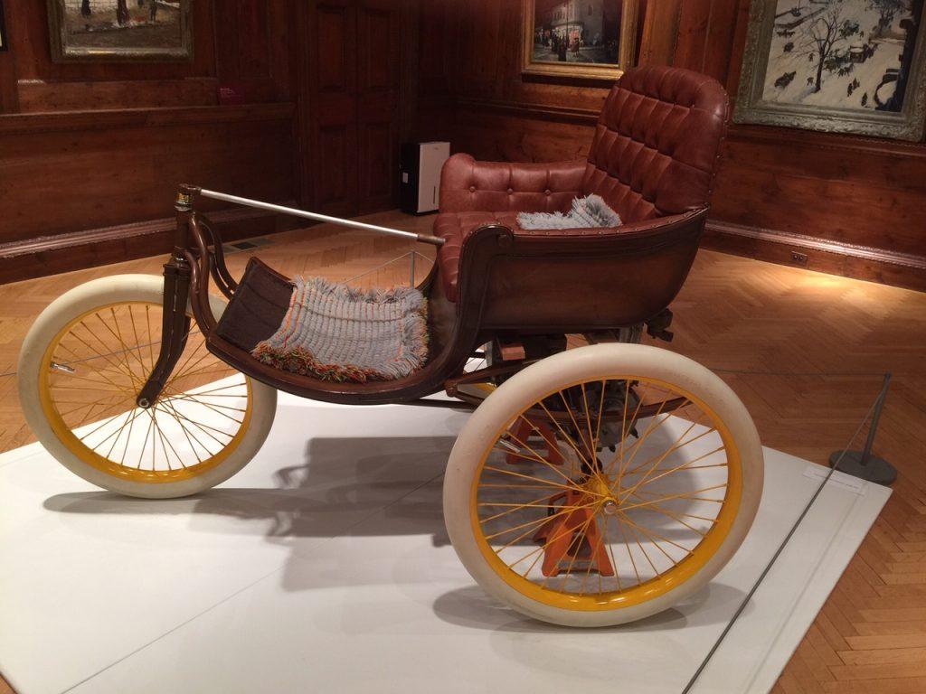 1899 reese 3 wheel carriage