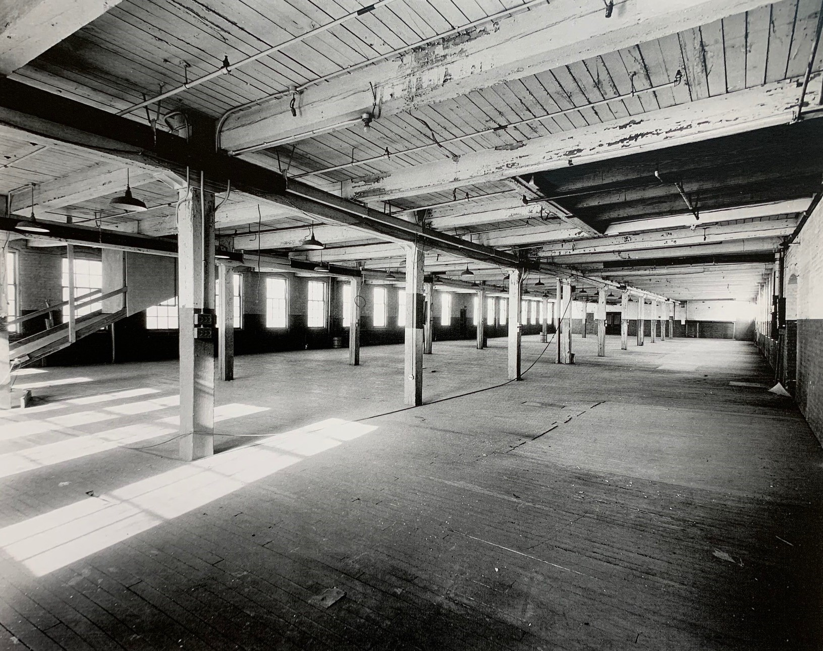 Jackson Auto factory in period - Second floor warehouse