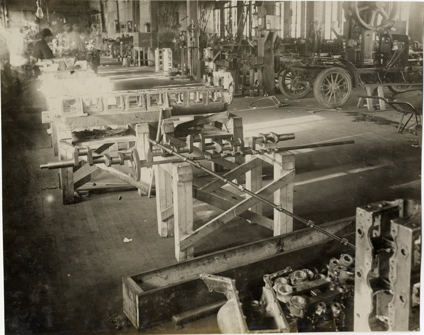 Jackson Auto factory in period