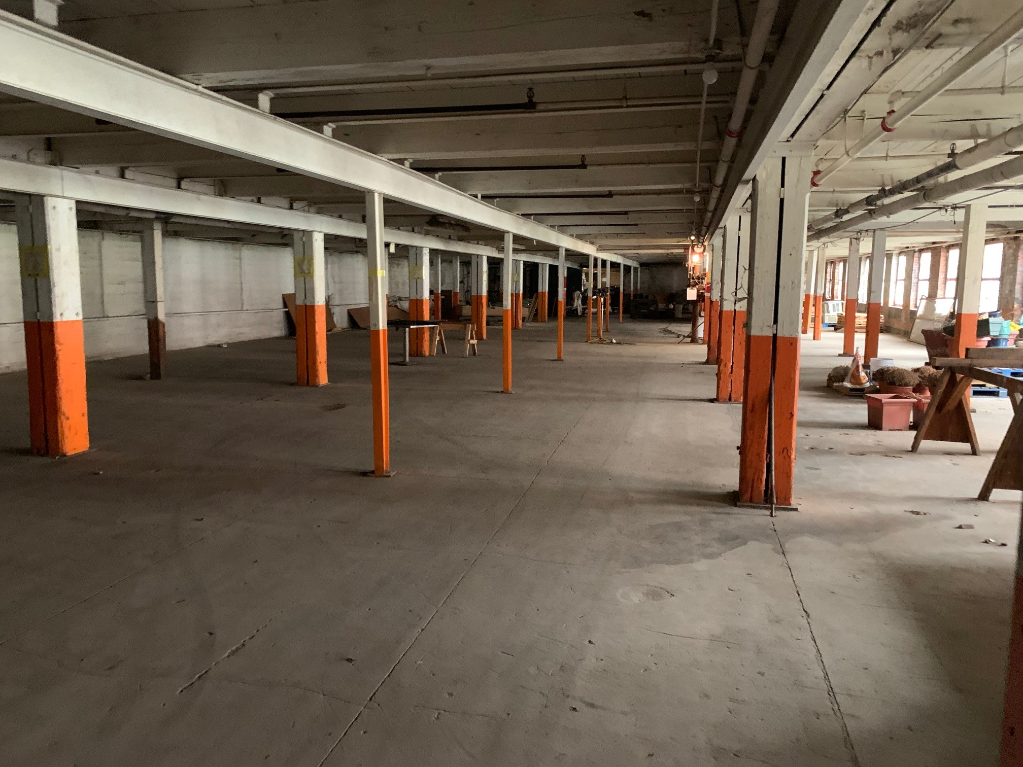 Jackson Automobile Factory interior - present day