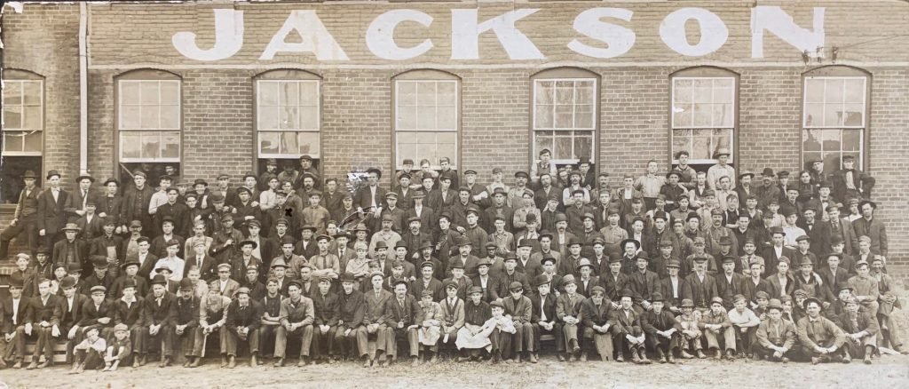 Jackson employees in period