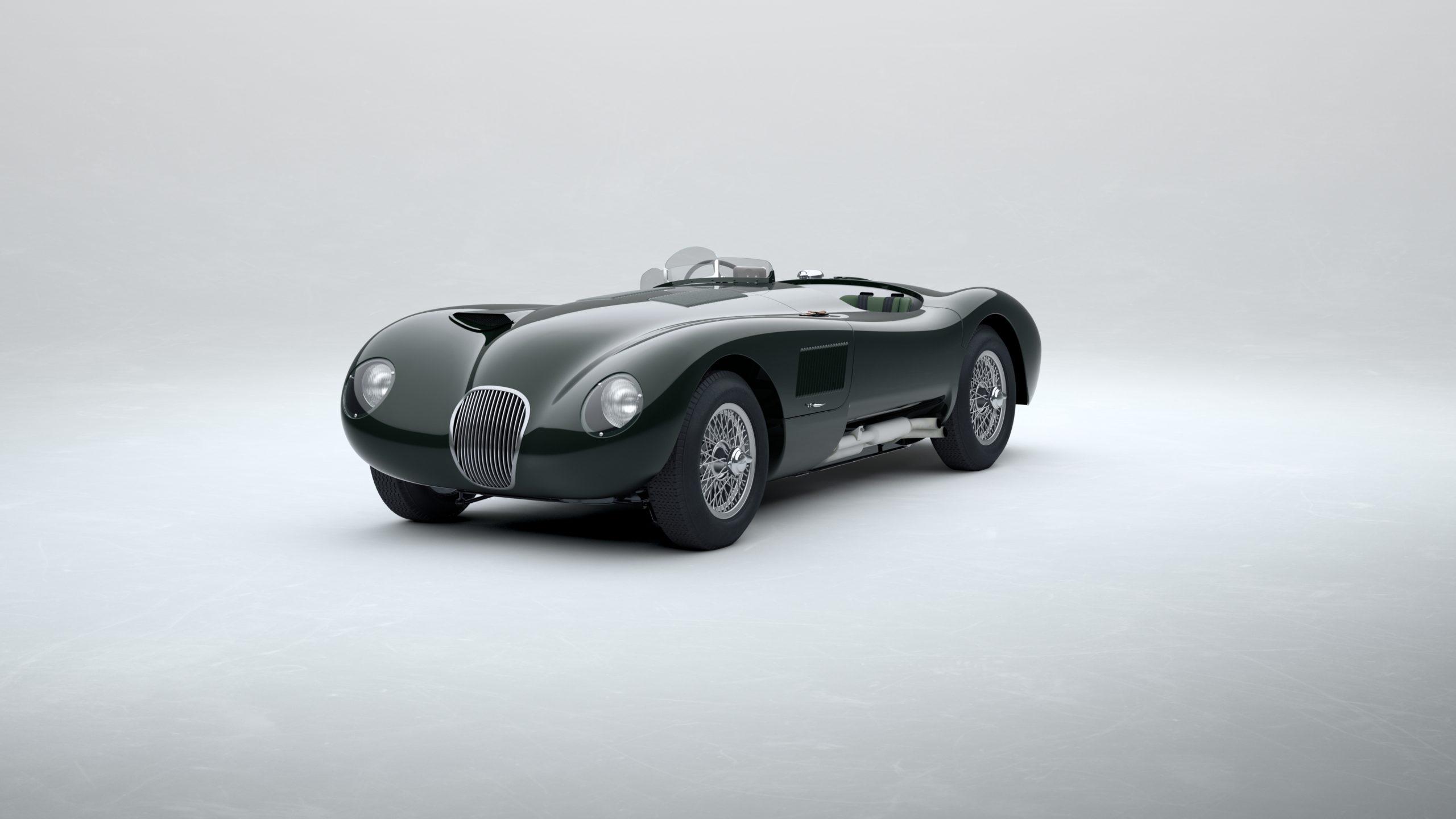 Jaguar Classic C-type_British Racing Green