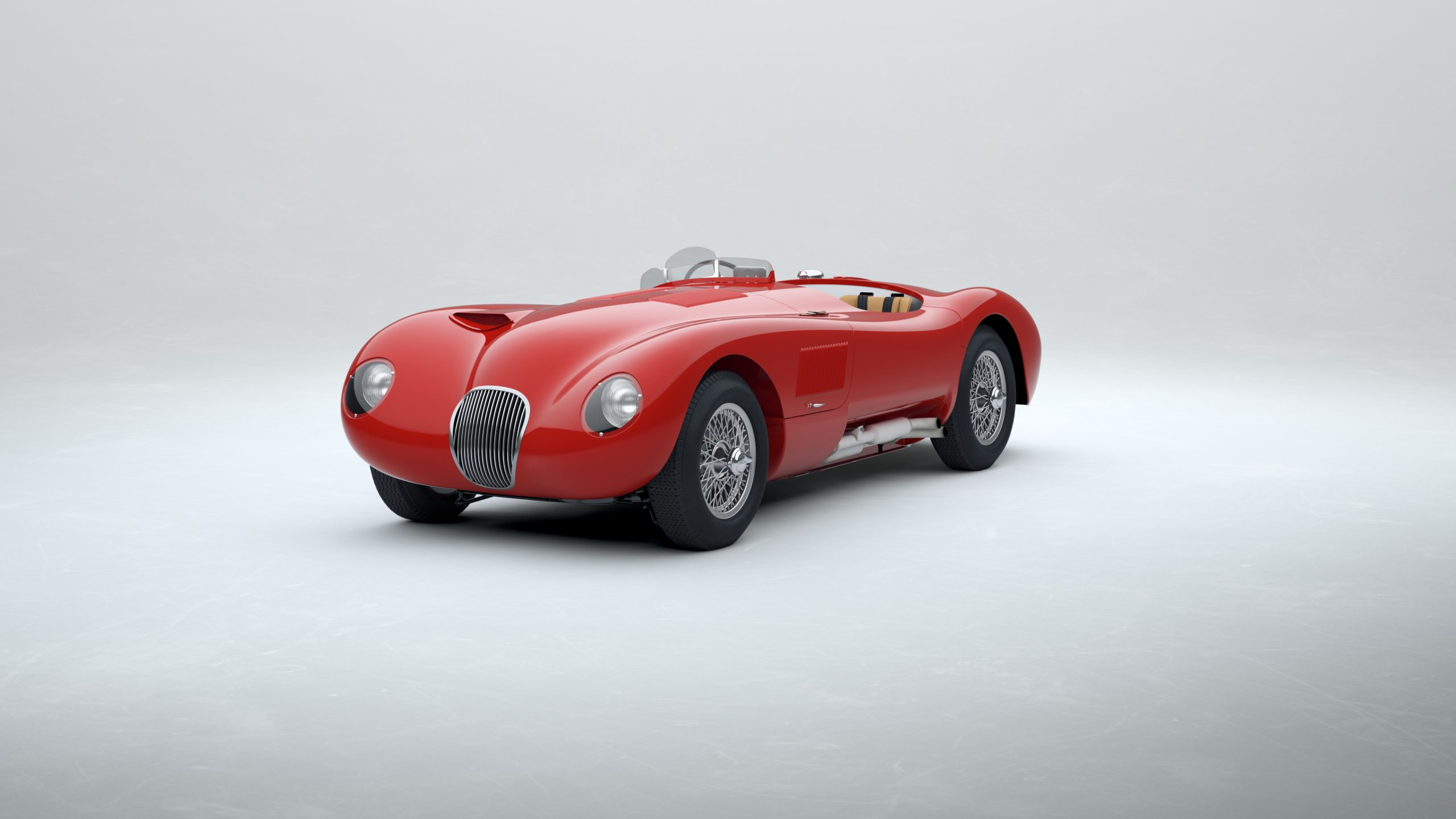 Jaguar Classic C-type_Carmen Red