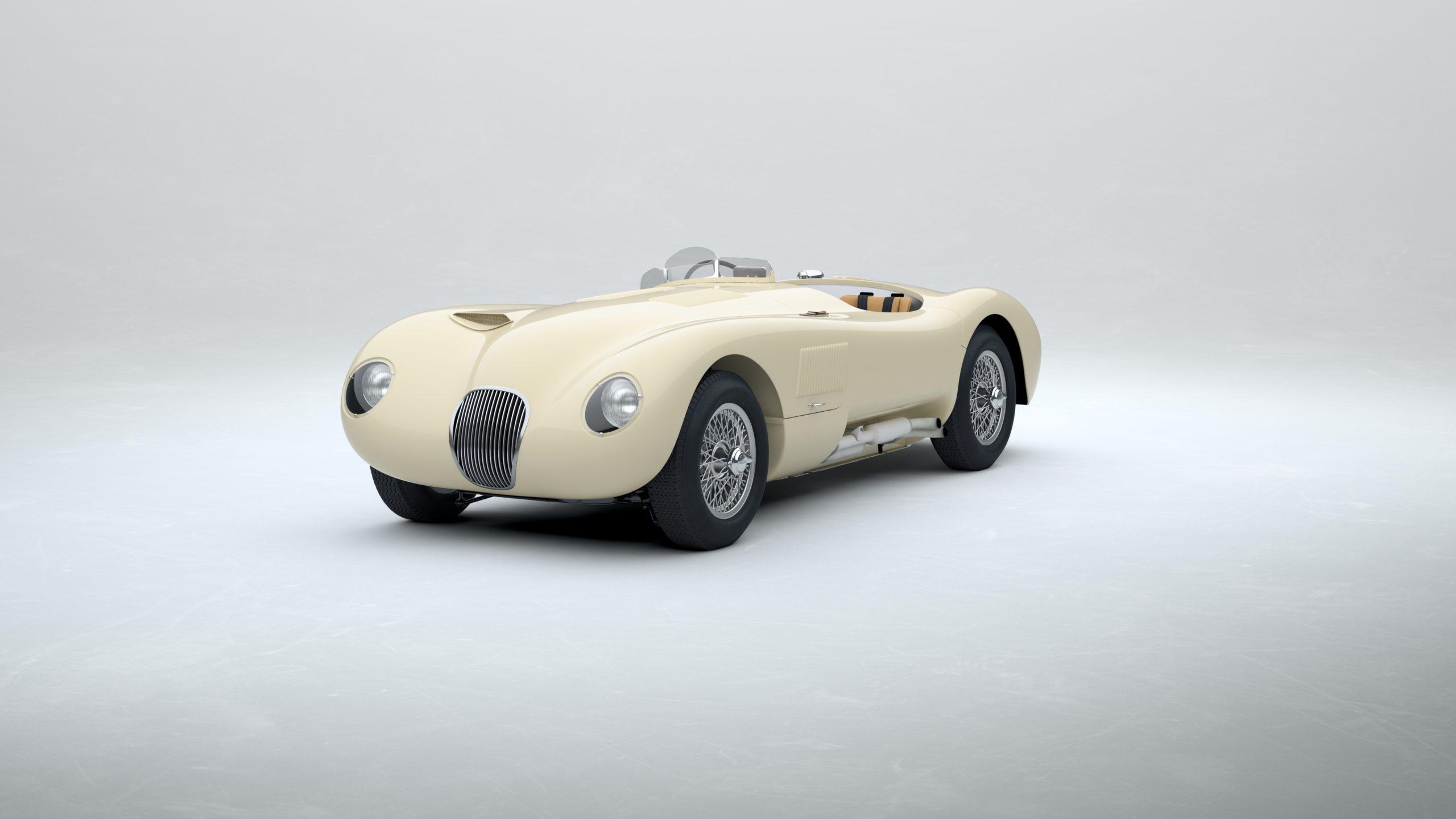 Jaguar Classic C-type_Cream