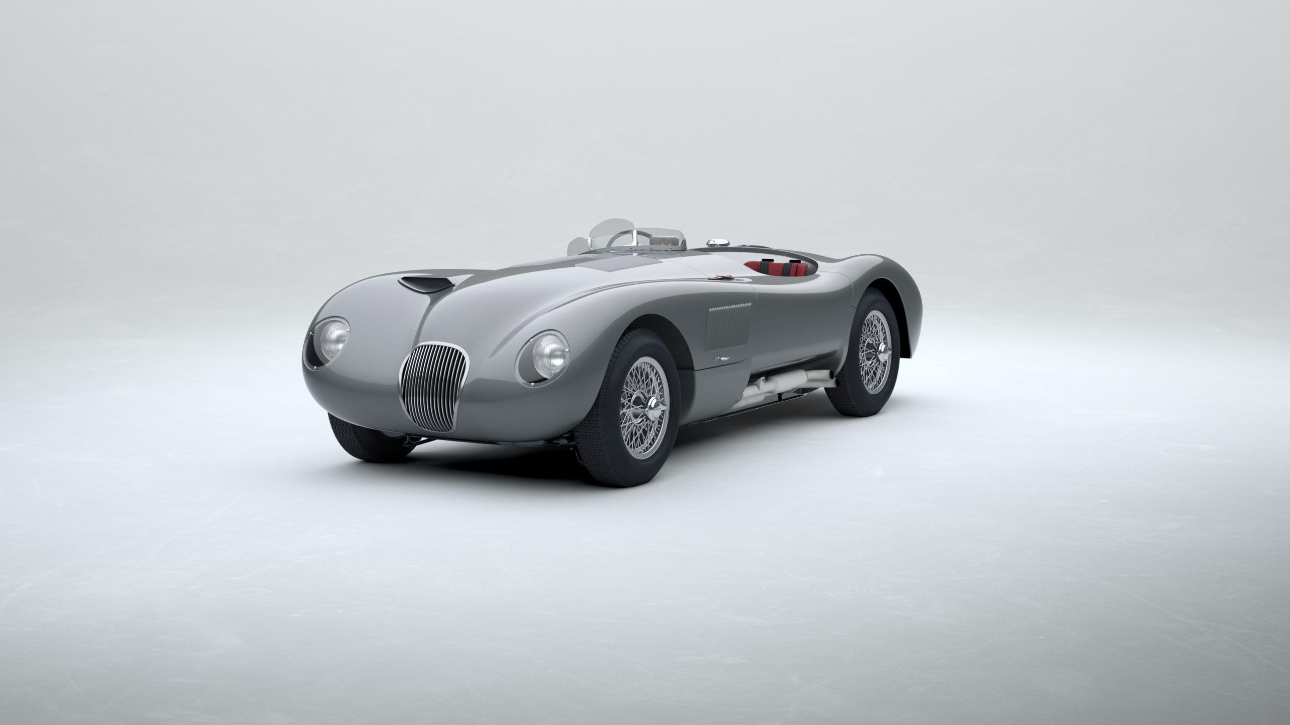Jaguar Classic C-type_Gunmetal