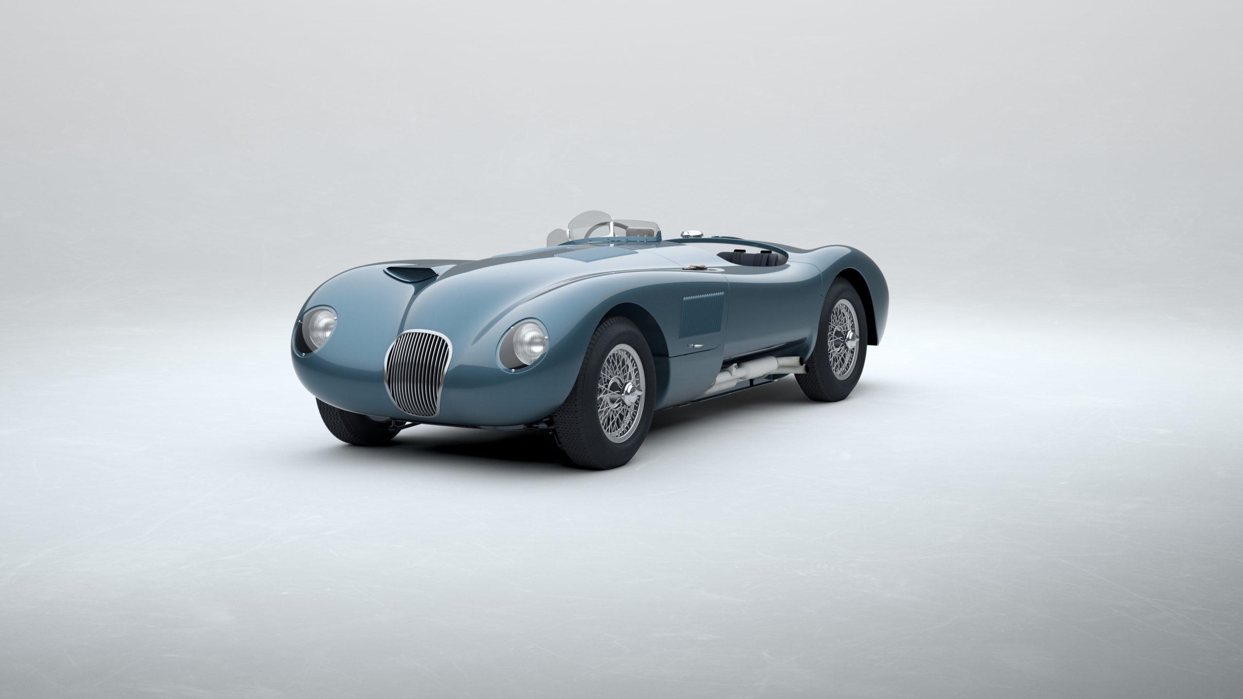 Jaguar Classic C-type_Metallic Blue