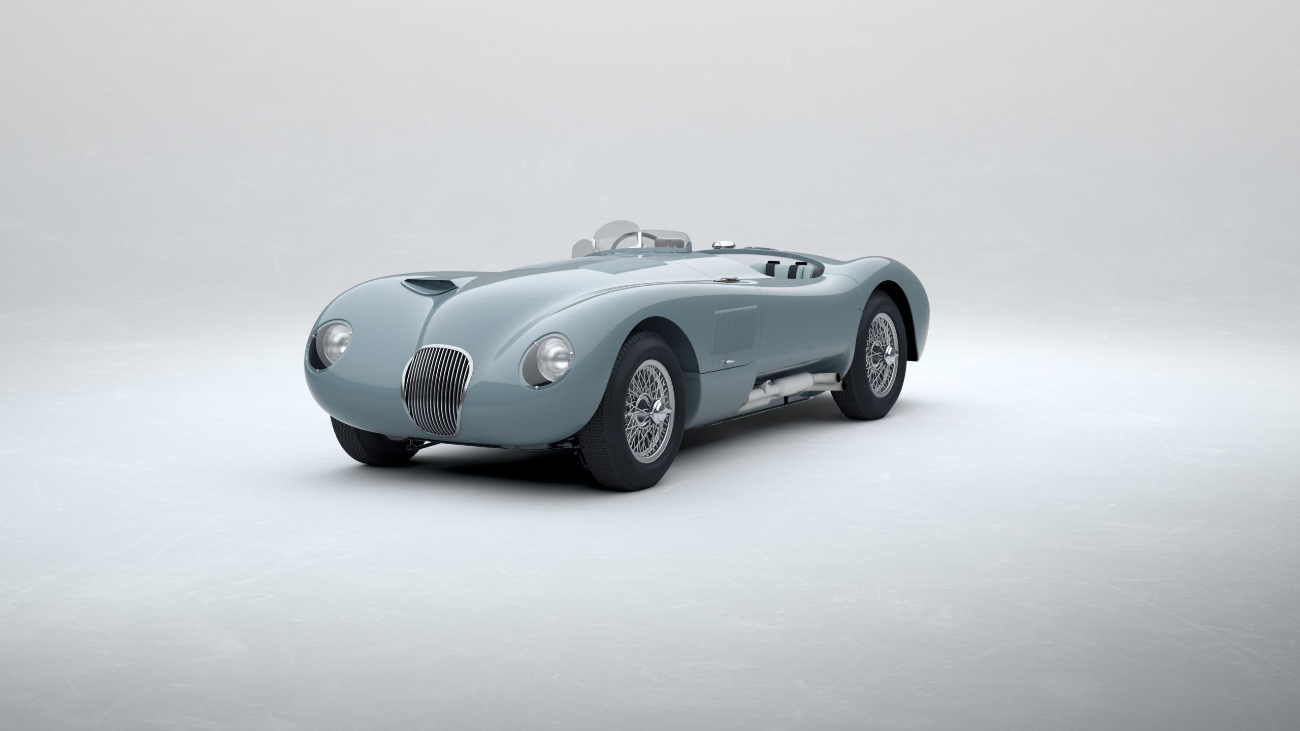Jaguar Classic C-type_Pastel Blue