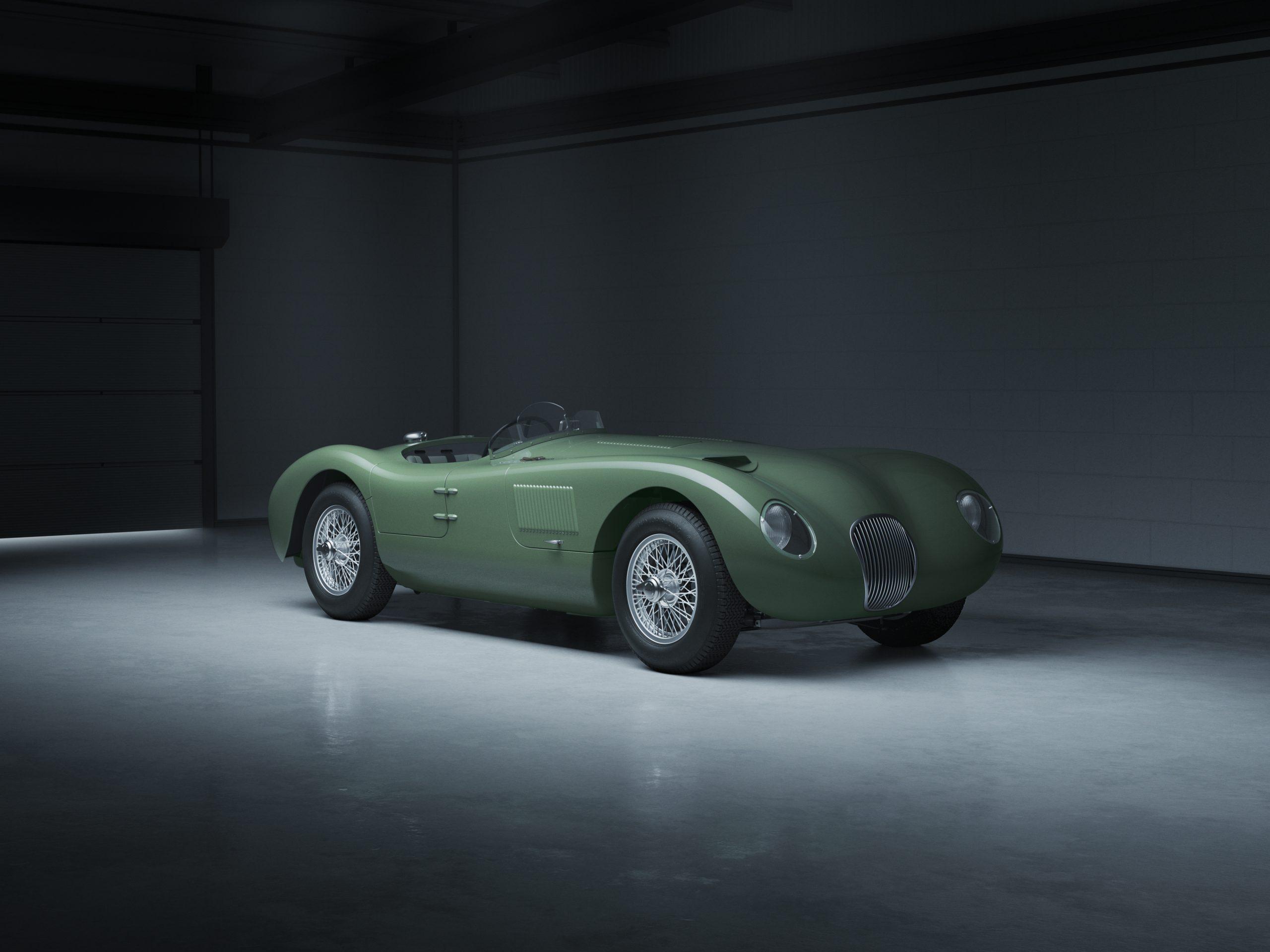 Jaguar Classic C-type_front3q
