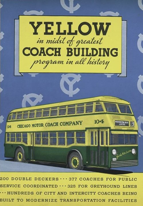 Yellow Coach 720 brochure cover