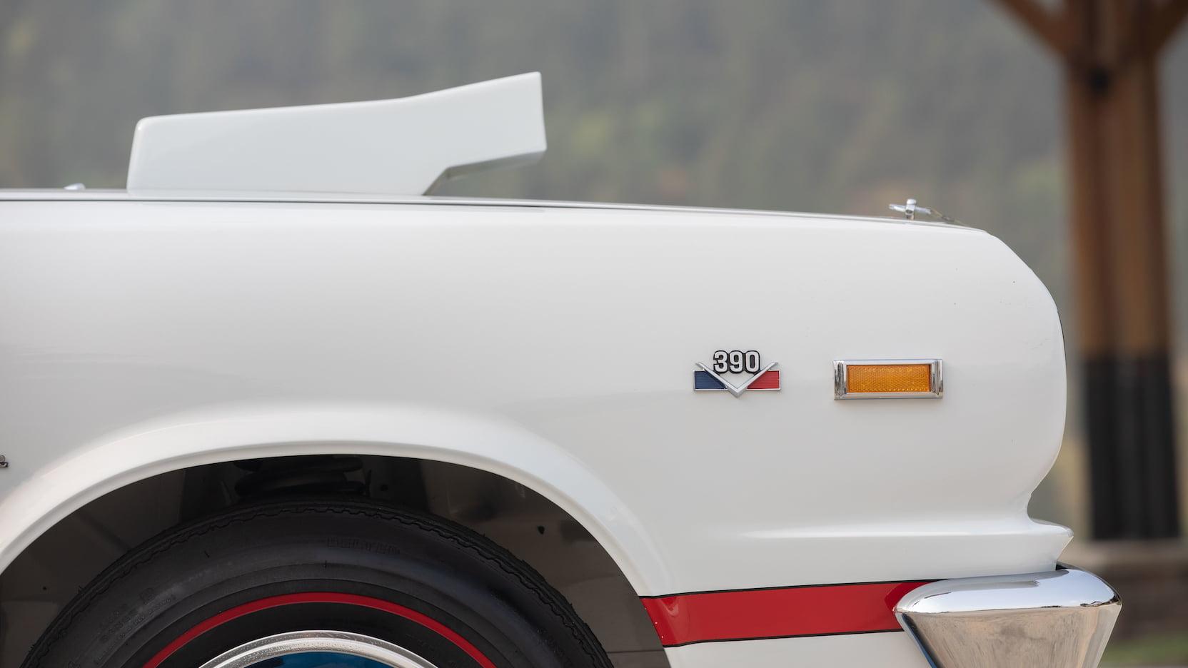1969 AMC Hurst SC/Rambler front quarter panel
