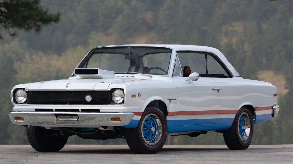 1969 AMC Hurst SC/Rambler front three-quarter