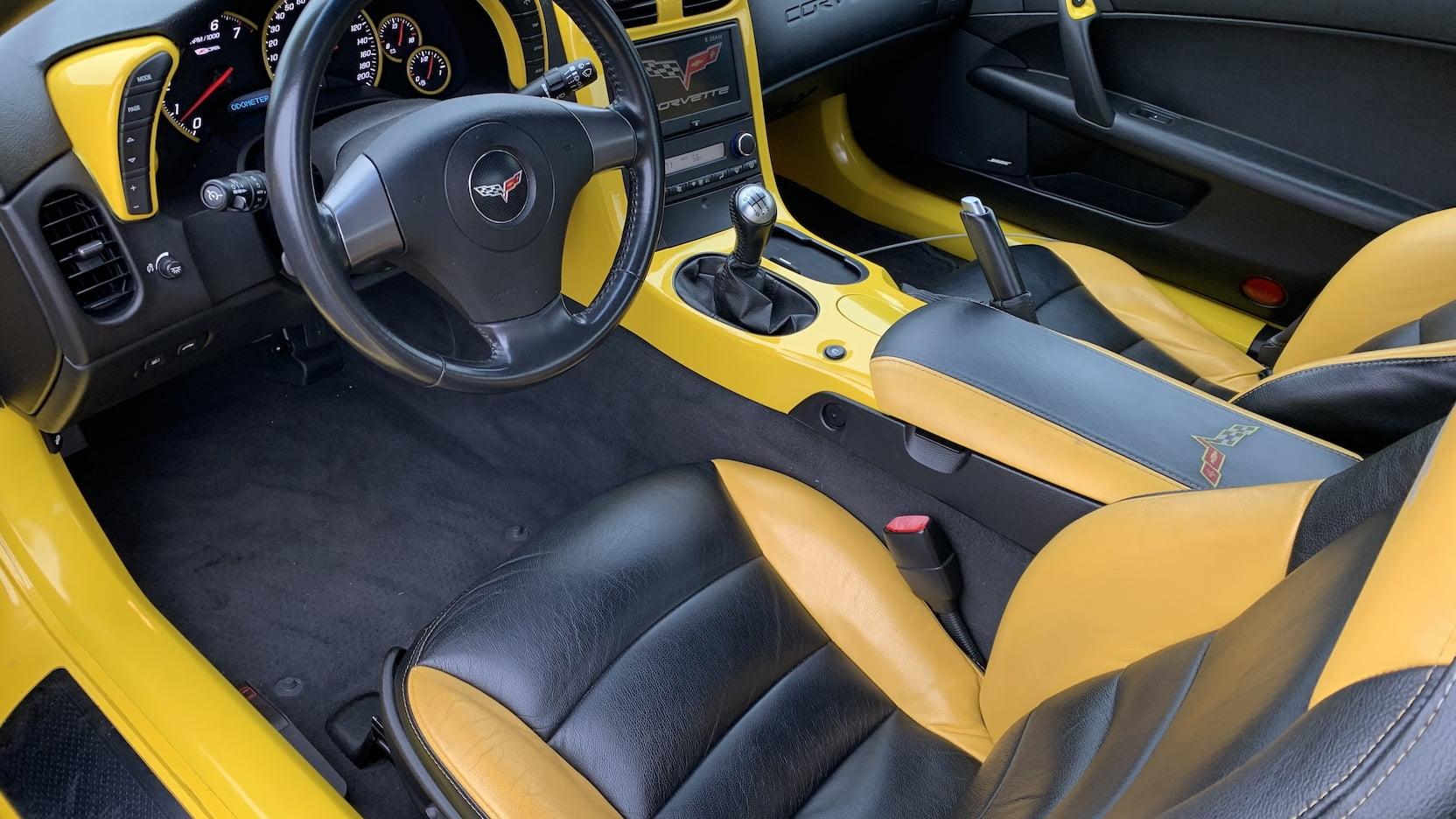 2006 Chevrolet Corvette Coupe interior