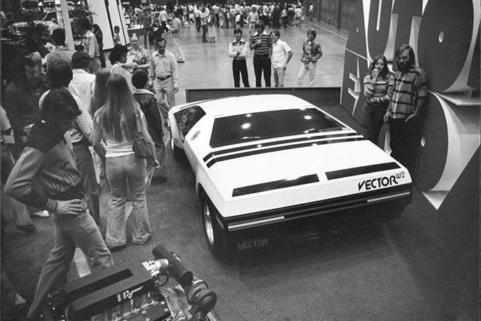 Jerry Wiegert - Vector 1976 auto show
