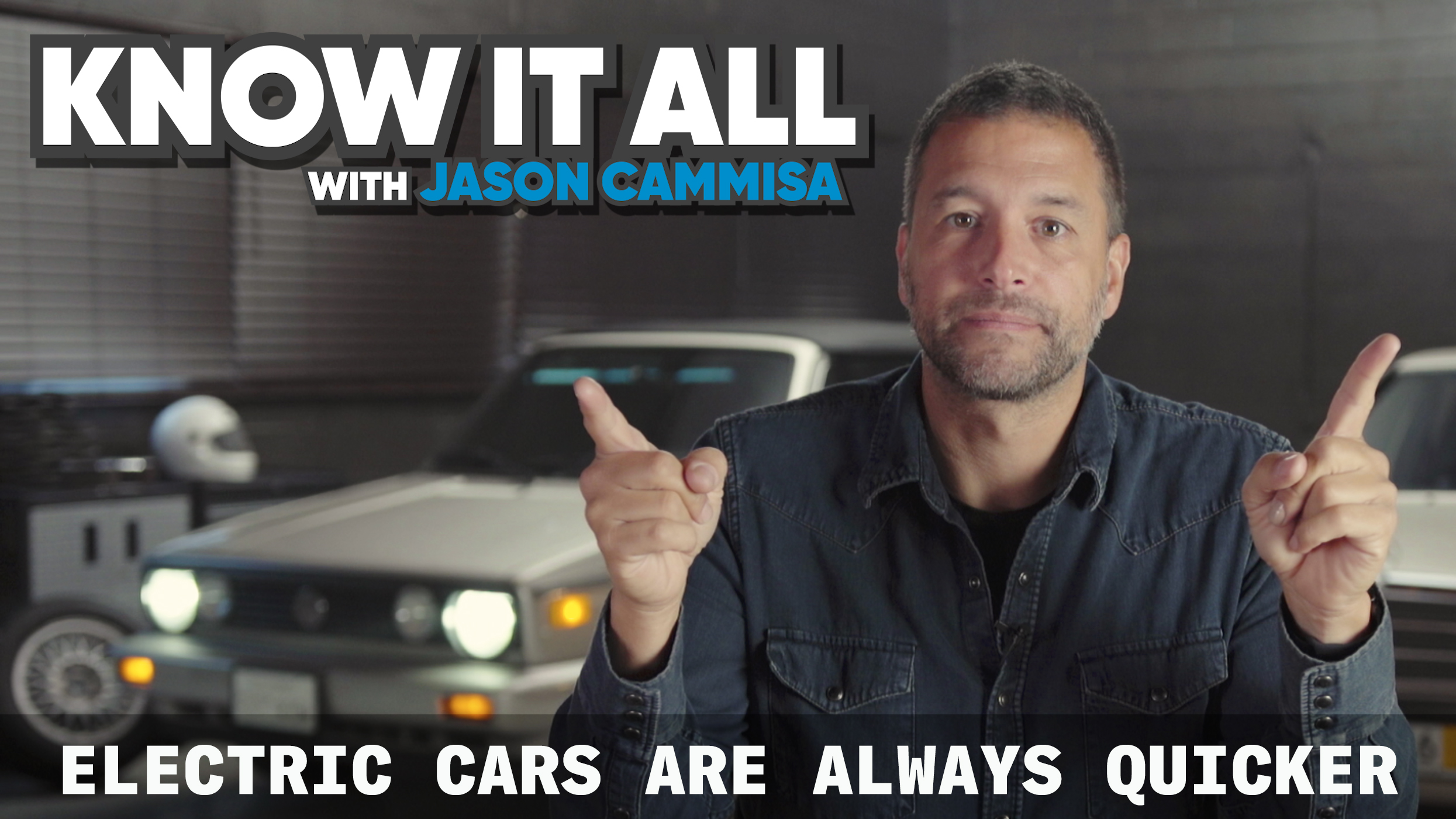 Know it all episode 1 Why EVs are quicker
