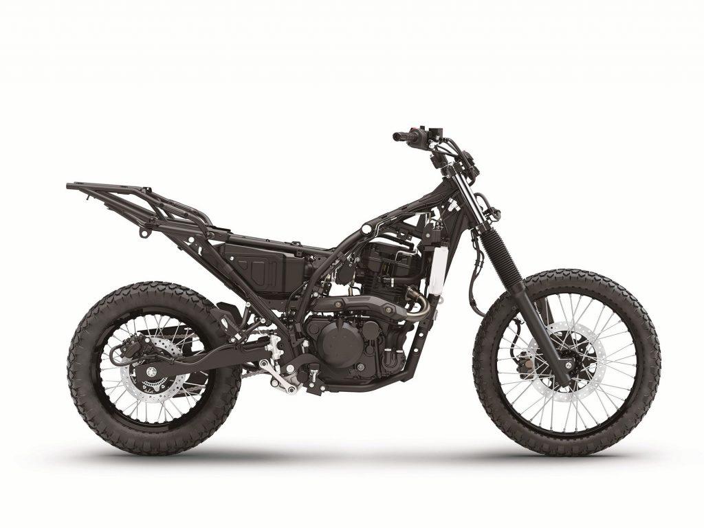 Kawasaki KLR650 frame