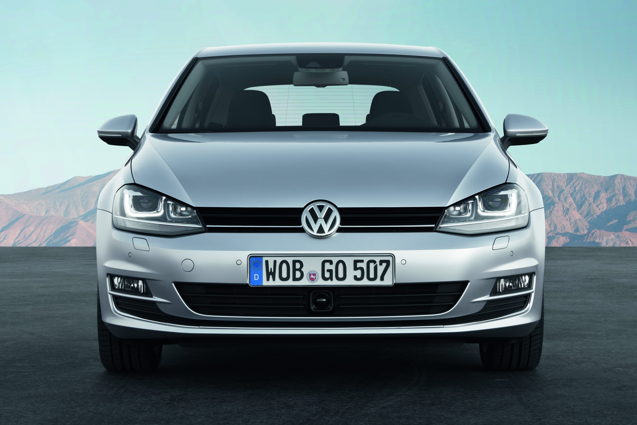 VW Golf mk7 front