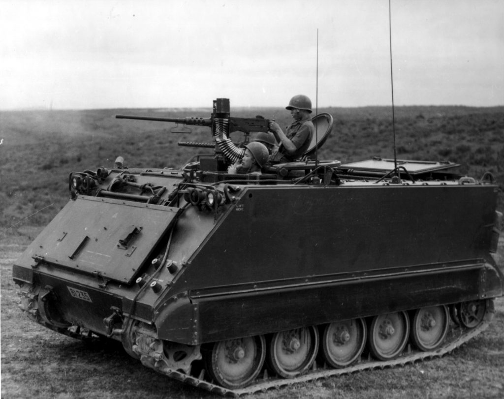 M113 APC Vietnam War action