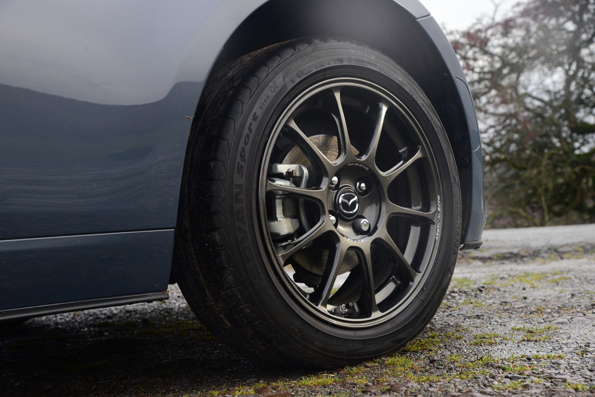 Mazda MX-5 R-Sport wheel tire detail